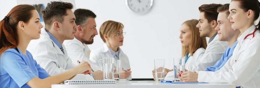 Formations métiers de la santé